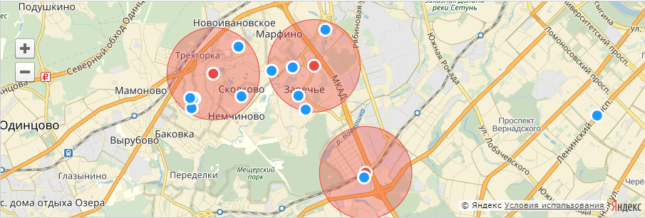 Метоположение в Яндекс Аудитории