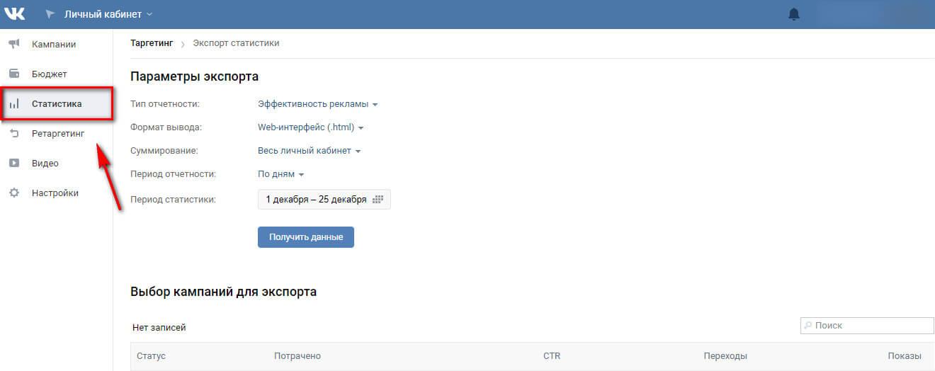 Как анализировать эффективность таргетинга ВКонтакте