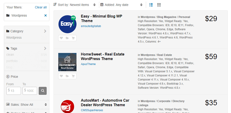 Премиум шаблоны WordPress