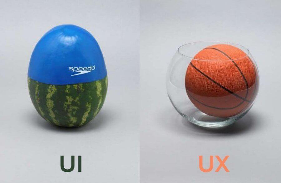 Отличия UX и UI