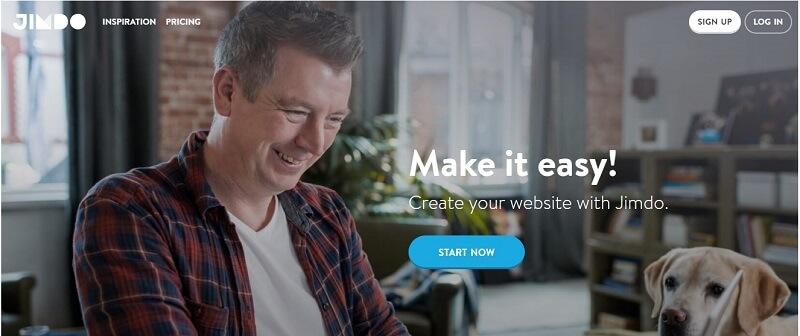 Конструктор интернет-магазинов Jimdo