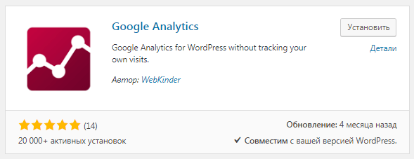 Google Analytics by WebKinder
