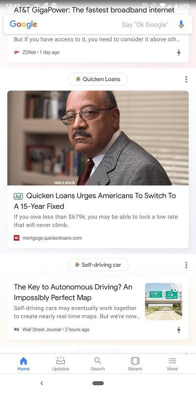 google ads discover