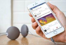 Музыка в Facebook Stories