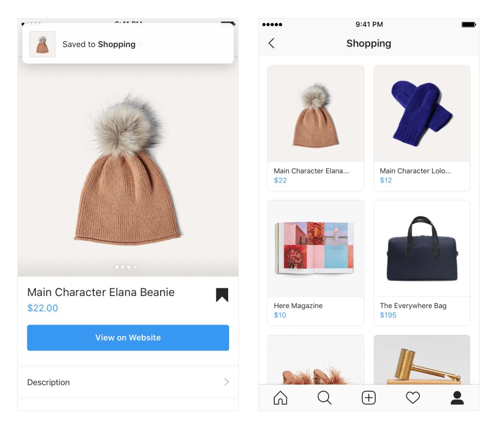 Подборки товаров для шоппинга в Инстаграме