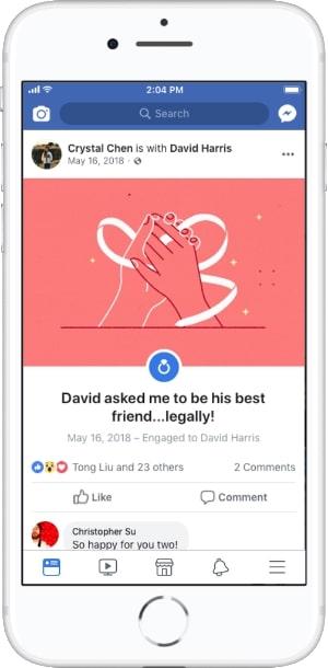 события из жизни в Facebook