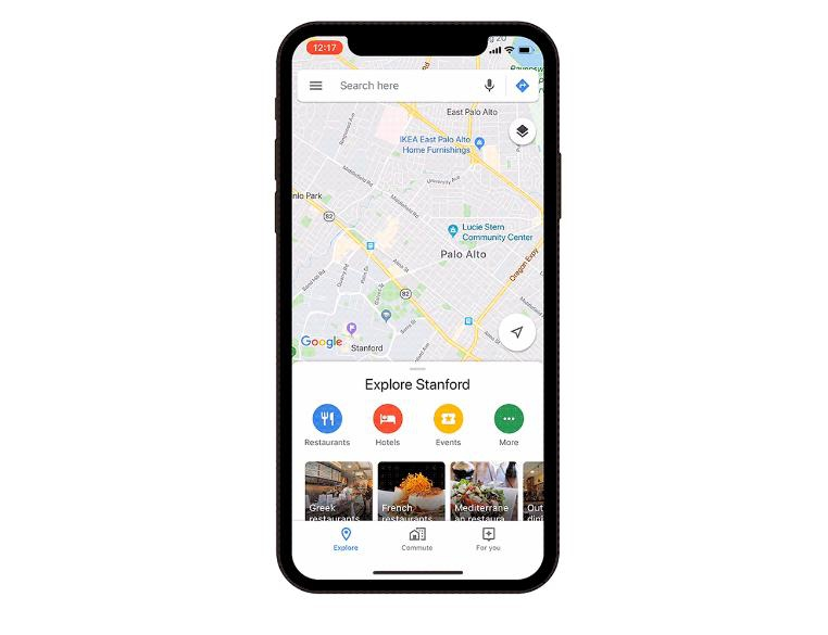 В Google Maps появилась вкладка «Для вас» с персонализированными предложениями