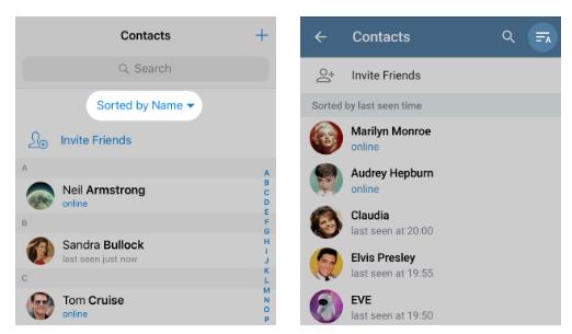 обновление Telegram
