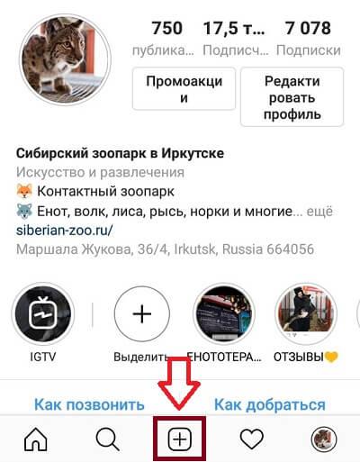 Как загрузить видео в Инстаграм