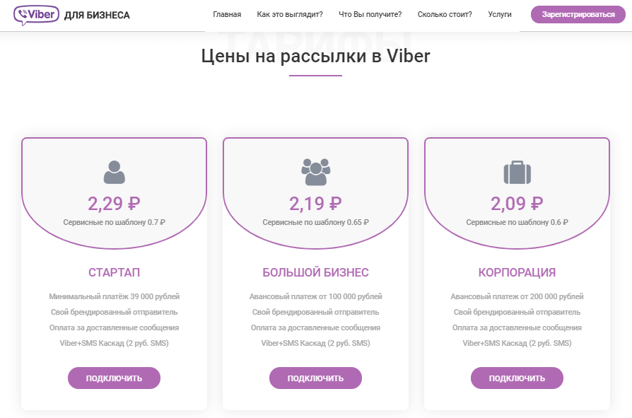 viber for business