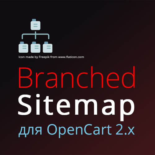 Branched Sitemap