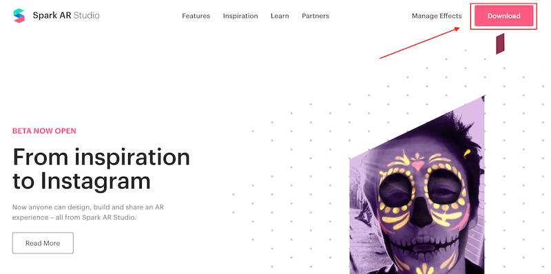 Как создать маску для сторис в Инстаграм в Spark AR