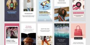 Шаблоны для рекламы в Историях Instagram и Facebook | IM