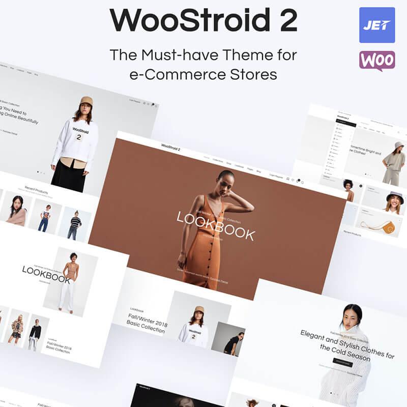 Woostroid2 - шаблон интернет-магазина на WordPress