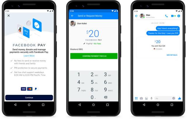 Как настроить facebook pay