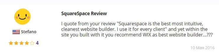 Squarespace Отзывы