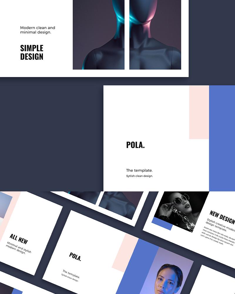 PowerPoint шаблон POLA - Design