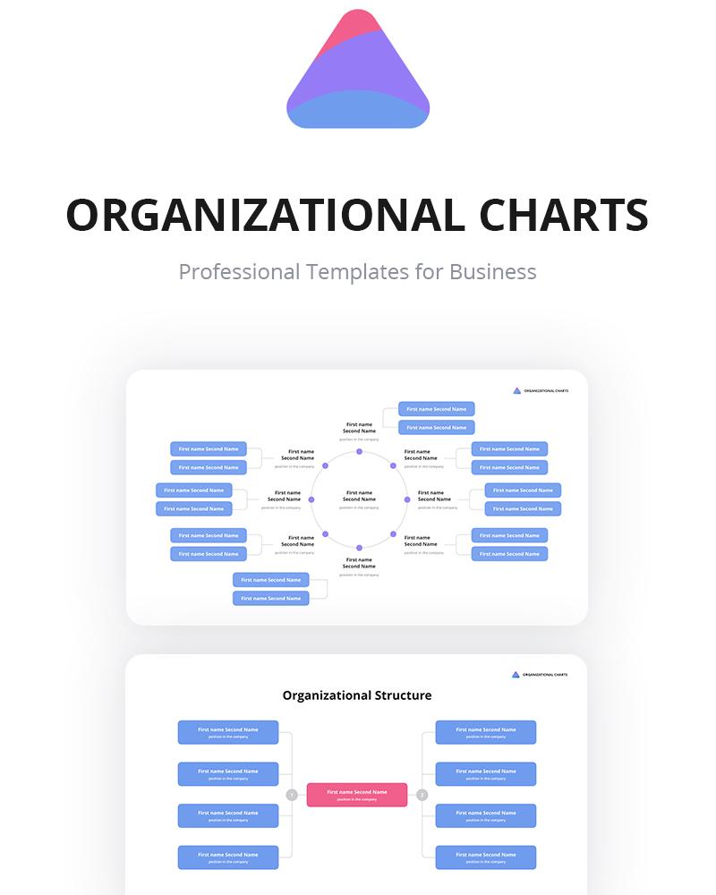 Keynote шаблон Org Charts