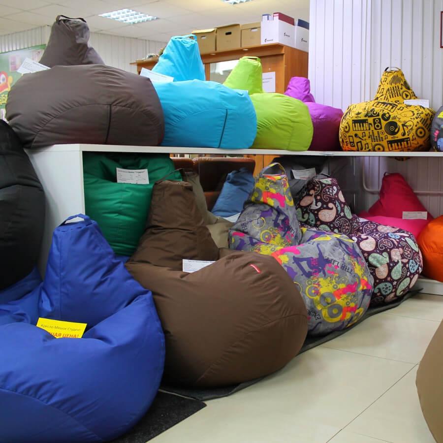 Изготовление бескаркасной мебели как бизнес в маленьком городе