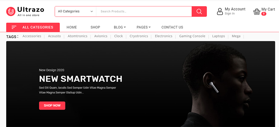 Оформление интернет-магазина и наполнение контентом