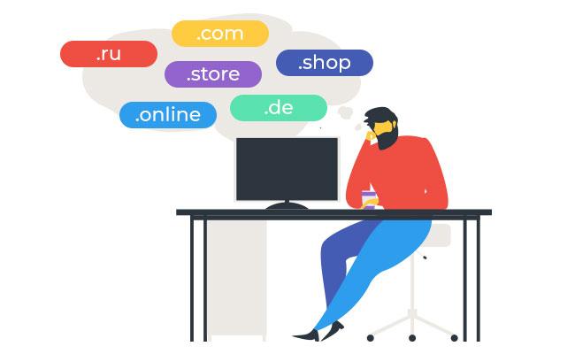 Поиск доменного имени