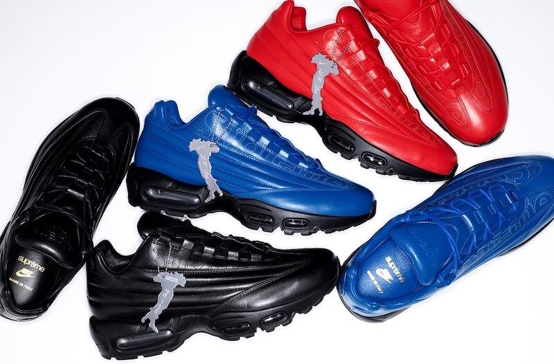 Коллаборация Nike и Supreme