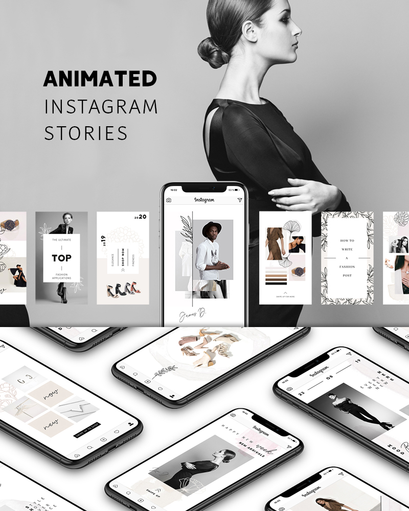 ANIMATED Instagram Stories – Pure Social Media