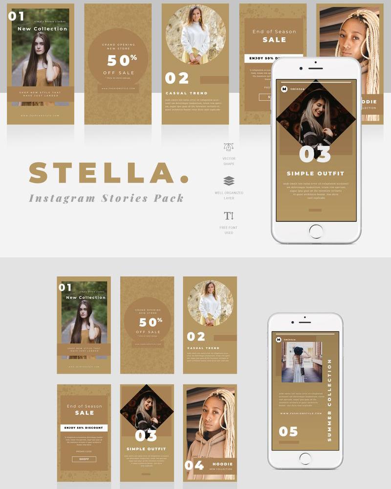 Stella - Instagram Stories Social Media