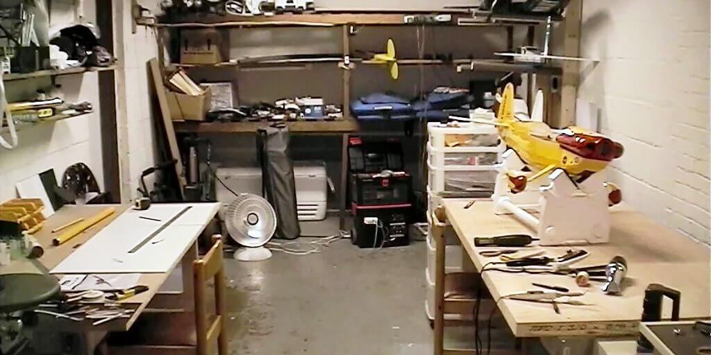 Реставрация мебели в гараже