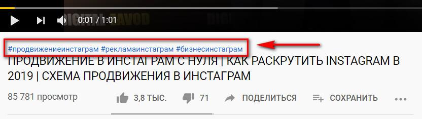 Как работают теги и ключевые слова на YouTube