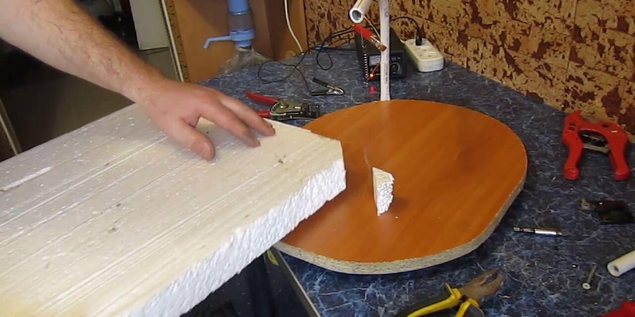 Обработка пенопласта