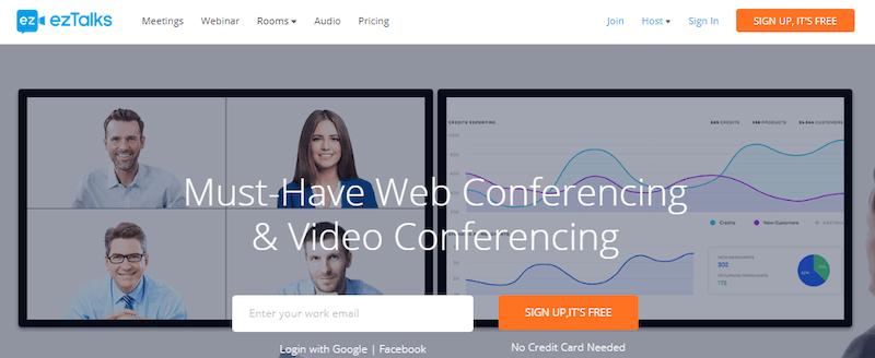 ezTalks - веб-конференции онлайн