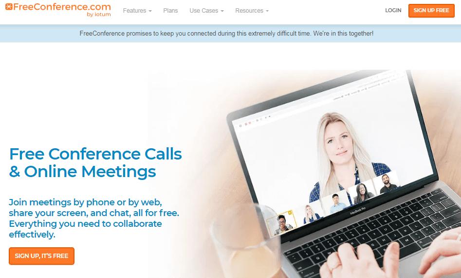 FreeConference - программа для видеоконференций