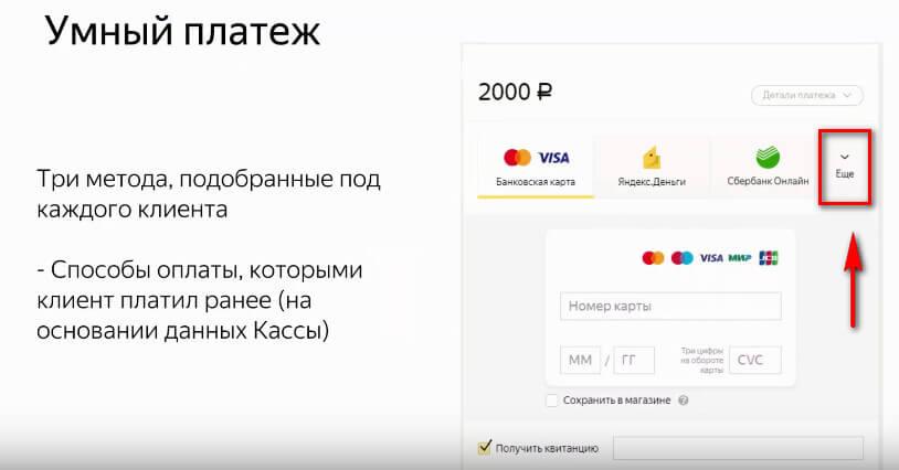 Как оплатить через Яндекс.Кассу