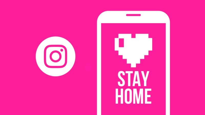 Instagram добавил новый стикер «#IStayHomeFor» в Истории