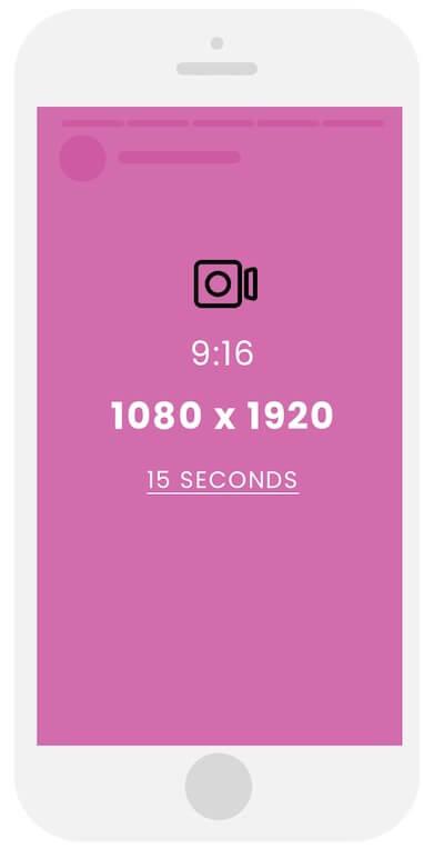 Размер видео для сторис в Инстаграм
