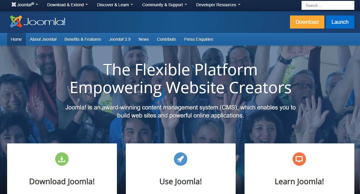 Joomla - бесплатный движок для создания сайта