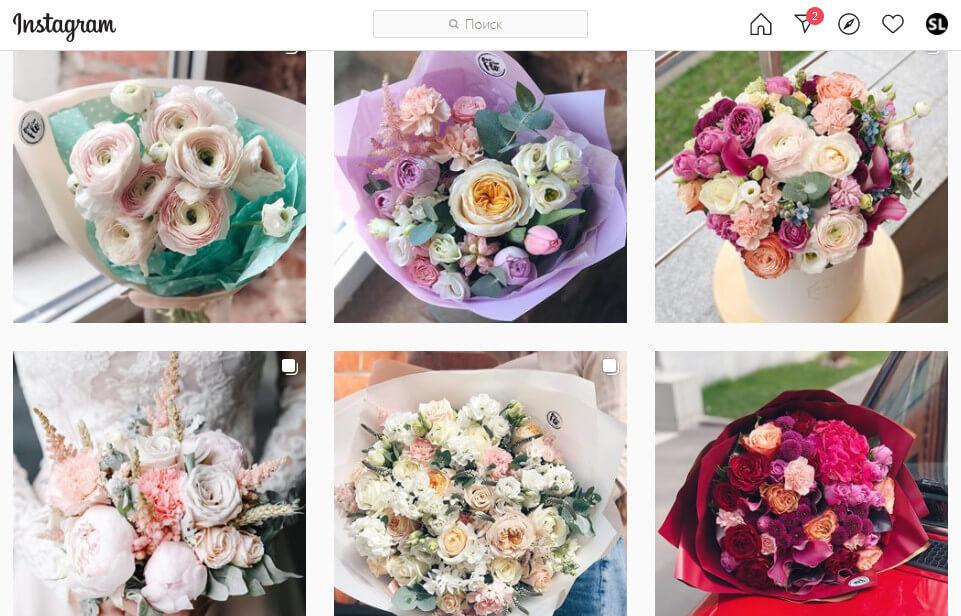 Анализ фото конкурентов в Инстаграм