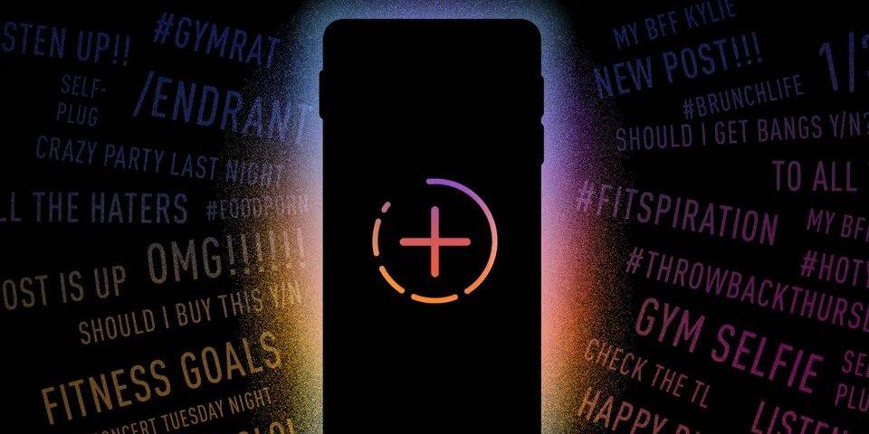 Новые шрифты и фоновые эффекты для Instagram Stories