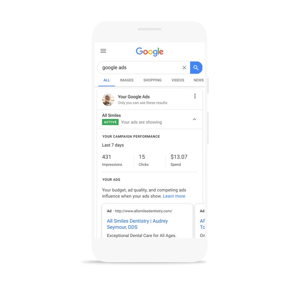 Отслеживание результатов в поиске Google