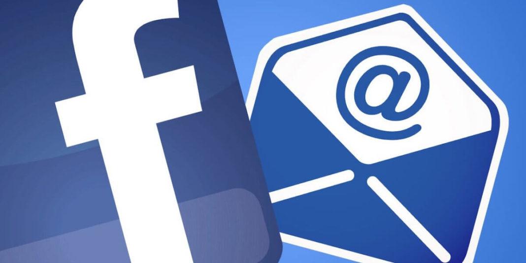 Facebook тестирует email-рассылки через соцсеть