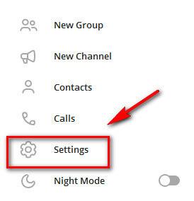 Как сменить язык в Телеграме