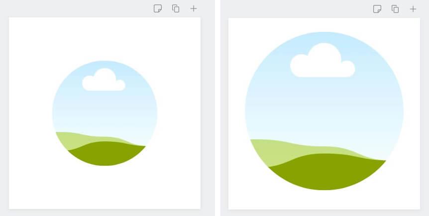 Как сделать аватар в кружке