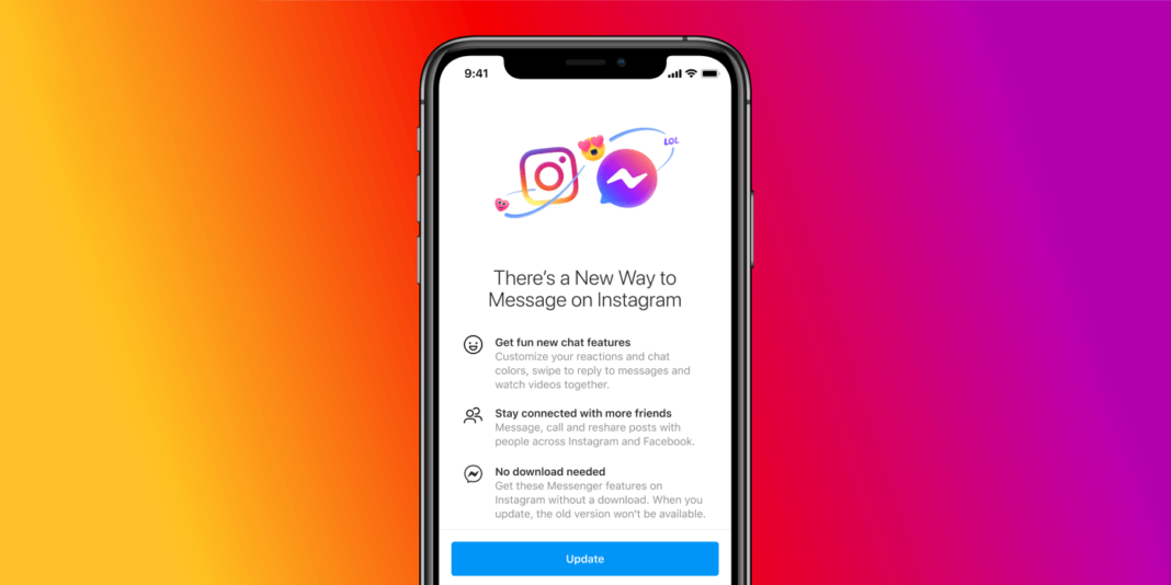 Интеграция Instagram Direct и Facebook Messenger: что это, как отключить