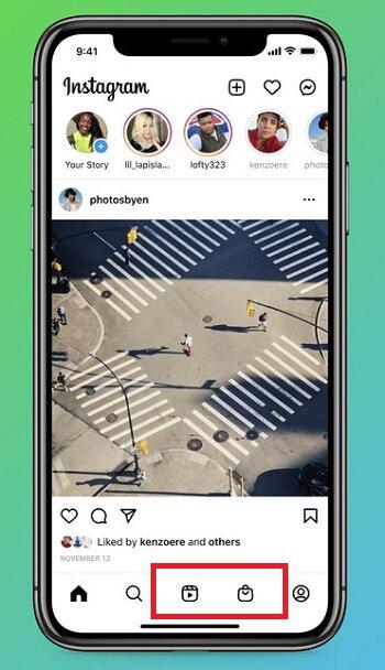 Instagram обновил дизайн основного экрана в приложении