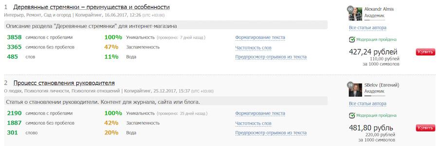 Обзор сервиса Text.ru: как работать авторам и заказчикам, цены и возможности