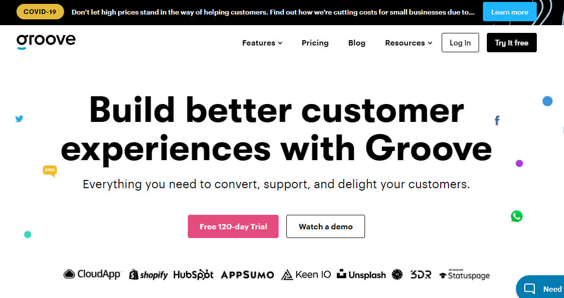 Groove - Англоязычный сервис техподдержки