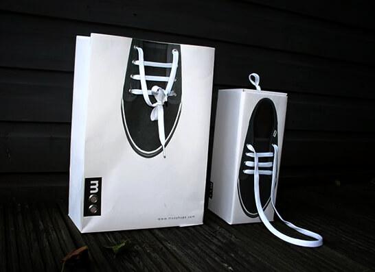 брендированные пакеты для покупателей