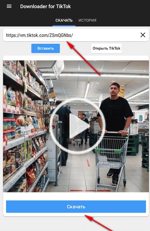 Как скопировать ссылку на видео в Тик-Ток