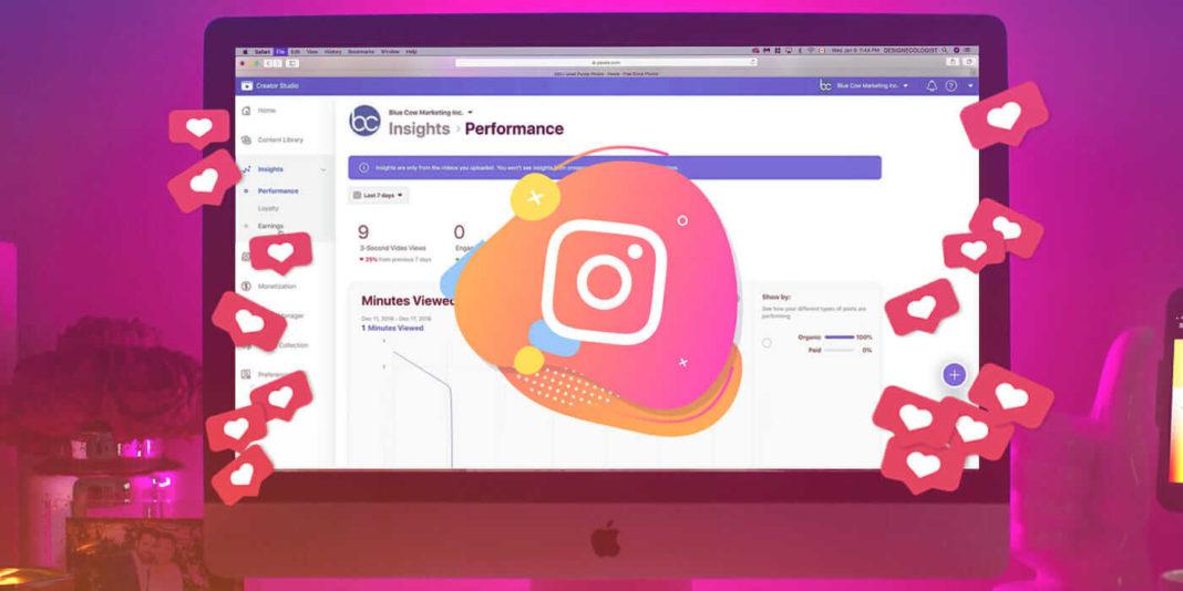 Facebook запустил календарь контента для Instagram в Creator Studio